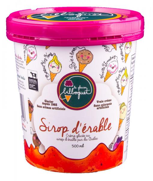 Crème Glacée au Sirop D'érable