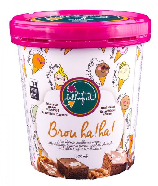 Crème Glacée Brou Ha! Ha!