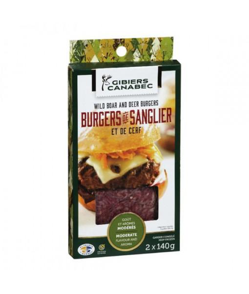 Burger De Sanglier Et De Cerf