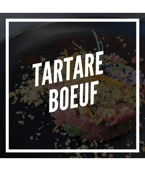 Tartare de Boeuf assaisonné